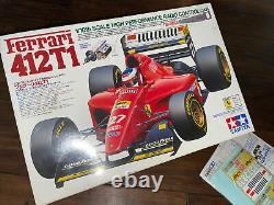 TAMIYA 1/10 RC Ferrari 412T1 F103 Chassis Racing Car Model Kit 58142 Complete