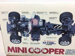 TAMIYA 1/10 RC Mini Cooper Racing Car M-03 Chassis Model Kit from Japan