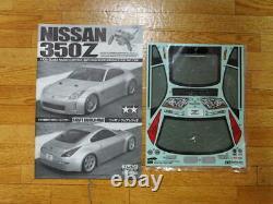 TAMIYA 1/10 RC Nissan 350Z Fairlady TL-01 Chassis Model Kit 58287 from Japan
