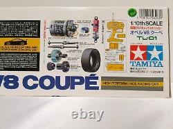 TAMIYA 1/10 RC Opel V8 Coupe Racing Car Model Kit TL-01 Chassis 58263 2