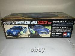 TAMIYA 1/10 RC Subaru Impreza WRC Monte Carlo'07 DF03Ra Chassis Model Kit 58390