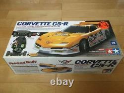 TAMIYA 1/10 Rlectric RC 4WD Racing Car Corvette C5-R TA04 Chassis Model