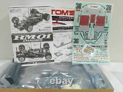 TAMIYA 1/12 RC TOYOTA TOM'S 84C RM-01 Chassis Model Kit 58509 from Japan
