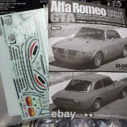 TAMIYA Alfa Romeo Giulia Sprint GTA M-04M Chassis 1/10th Scale R/C Racing Car