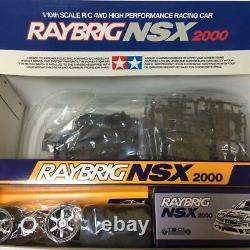 TAMIYA RAYBRICK NSX 2000 TB-01 Chassis 1/10 R/C 4WD HIGH PERFORMANCE RACING CAR