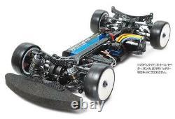 TAMIYA TB EVO. 6 Chassis Kit Black Version 1/10th Scale R/C 4WD Racing Car