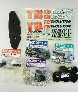 TAMIYA TB EVOLUTION 1/10th SCALE R/C RACING CAR CHASSIS KIT LIMITED EDITION