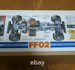 TAMIYA TOYOTA CELICA FF02 Chassis 1/10th SCALE R/C FWD RACING CAR Radio Control