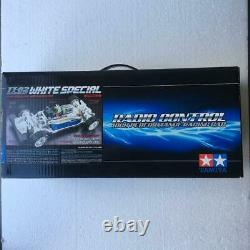 TAMIYA TT-02 Chassis Kit White Special 1/10th Scale R/C 4WD Racing Car