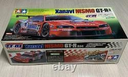 TAMIYA Xanavi NISMO GT-R R34 TT-01 CHASSIS 1/10th SCALE R/C 4WD RACING CAR