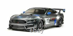 Tamiya 1/10 RC Ford Mustang GT4 Race Car Kit, with TT-02 Chassis