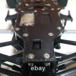 Tamiya 1/10 RC Formula 1 Racing Car F201 Chassis 4WD USED with spare body