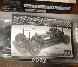 Tamiya Chassis 4WD Racing Car Ferrari 458 Challenge TT02 1/10 Kit with Box