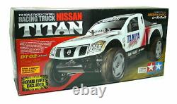 Tamiya EP RC Car 1/12 NISSAN TITAN DT02 Chassis Racing Truck with ESC 58511