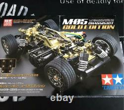 Tamiya M-05 Gold Edition Chassis Kit 1/10 Radio Control Fwd Racing Car