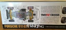 Tamiya Porsche 911 GT2 Racing 1/10 RC Car, TA02SW Chassis, Kit No. 47321 NEW