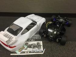 Tamiya TA02 SW Porsche 911GT2 Racing Unwring 1/10 Electric RC Car JP