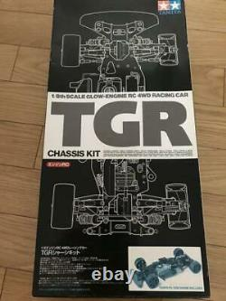 Tamiya TGR Chassis KIT Glow Engine RC 4WD Racing Car 1/8 Scale Toy Rare
