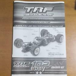 Tamiya Trf102 Chassis Kit 1/10 Scale R/c 2wd High Performance Racing Car