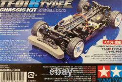 Tamiya Tt-01r Type-e Chassis Kit 1/10 Scale Radio Control 4wd Racing Car