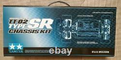 Tamiya Tt-02 Type-sr Chassis Kit 1/10 Scale R/c 4wd Racing Car