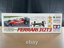 Tamiya rc 1/10 ferrari 312t3 f-1 racing car model kit f103rs chassis 49191
