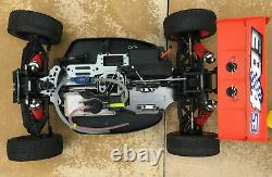 Thunder Tiger EB4 S3 1/8 Car 4WD Off-Road Nitro Racing RC Buggy Rolling Chassis