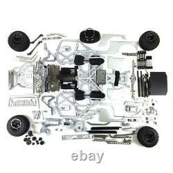 UK Stock Capo 1/8 RC Car Rock JKMAX Racing Crawler KIT Metal Chassis Unassembled