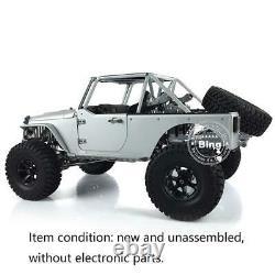 UK Stock JKMAX Racing Crawler KIT Metal Chassis Capo 1/8 RC Car Rock Unassembled