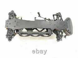 ULTRA RARE HPI Racing Cup Racer 1/10 Rally Car Roller Slider Chassis Used