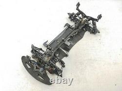 VBC Racing Carbon Fiber 1/10 Touring Car 4wd Roller Slider Chassis Used