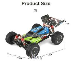 WLtoys Racing RC Car 60 km/h 144001 2.4G Competition Metal Chassis 4wd Electric