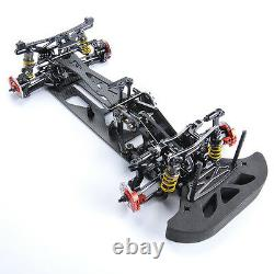 1/10 Alliage De Voiture Électrique Électrique Et Carbone 4wd G4 Drift Racing Cadre Modèle De Châssis De Châssis