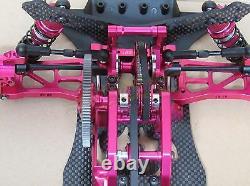 1/10 Alliage Et Carbone Sakura D4 Awd 4wd Drift Racing Car Frame Kit #kit-d4awd