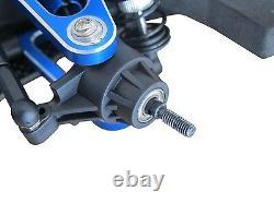 1/10 Alliage Et Carbone Tt01 Tt01e Shaft Drive 4wd Racing Car Châssis Frame Kit