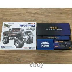 1/10 Rc Pickup 44 Rally Car Racing Model Rock Roughler Kit Châssis Axes Roues