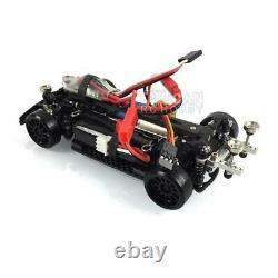 1/28 Châssis Avec Moteur Minid Top Toyota Ae86 1/24 Tameya Drift Race Car Modèle Rc