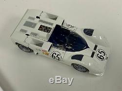 118 Exoto Chaparral 2e Course Gagne Voiture 1966 Laguna Phil Colline Avec Châssis Roulant