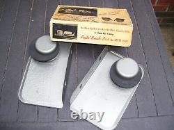 1950 Antique Auto-trays Fenêtre Automobile Voiture Hop Drive-in Film Vintage Chevy
