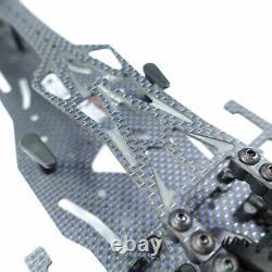 3racing Sakura D5 Blue Carbon Rwd Rc Drift Car Chassis Kit, 1/10 Échelle Nouveau, Royaume-uni