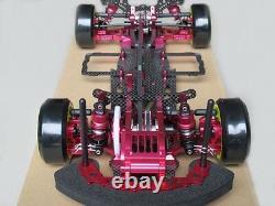Alliage - Carbon Rc 1/10 Drift Racing Car Frame Kit Pour Sakura D3 Cs 3r Op