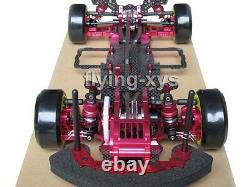 Alliage & Carbone 1/10 Sakura D3 Drift Racing Kit Frame Voiture Avec Moteur Et Esc Rc Cambo