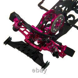 Alliage & Carbone 110 Version 2x4 Rc Drift Car Frame Kit Pour Racing Sakura D4 Rwd