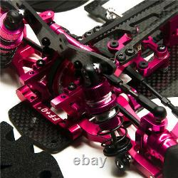 Alliage & Carbone Rc 1/10 Drift Racing Car Frame Body Kit 110 Pour Sakur Xis Drive