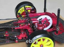 Alliage - Carbone Sakura D3 Cs 1/10 4wd Drift Racing Car Frame Body - Avant One Way