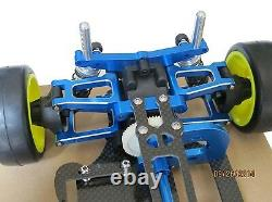 Alliage & Carbone Tt01 Tt01e Shaft Drive 1/10 4x4 Racing Car Chassis Frame Kit