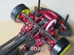 Alliage Et Carbone Sakura D3 Cs 1/10 4wd Drift Racing Car Frame Kit Withfront One Way