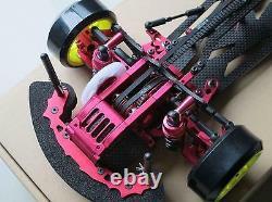 Alliage Et Carbone Sakura D3 Cs 1/10 4wd Drift Racing Châssis De Voiture Corps Et Avant Une Manière