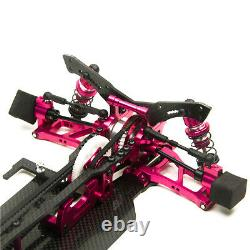 Alloy & Carbon Rc 1/10 Drift Racing Car Awd 4wd Frame Body For Sakur Xis Gift