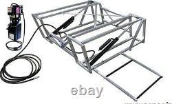 Allstar Portable Hydraulic Race Car Lift, Cadre En Aluminium, 110v, Nhra, Scca, Nasa